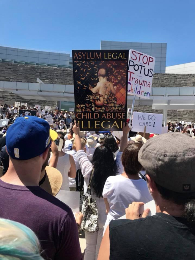 Families Belong Together Rally - SJ-photo Isaias Sandoval