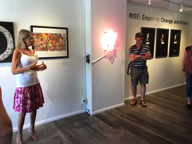 Rise - GCA - Whitney Modern - Reception 49 - photo Marie Cameron 2018